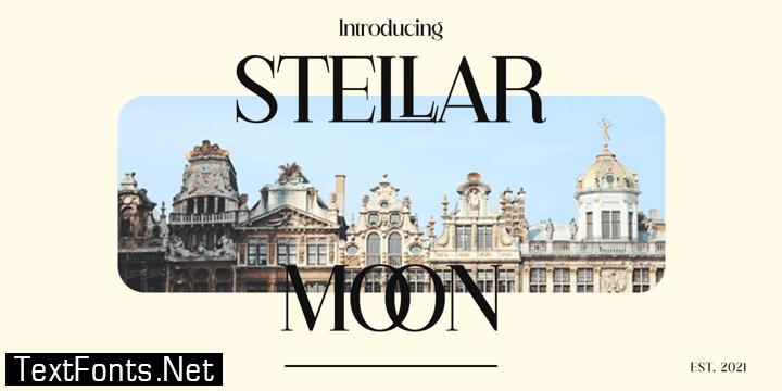 Stellar Moon Font
