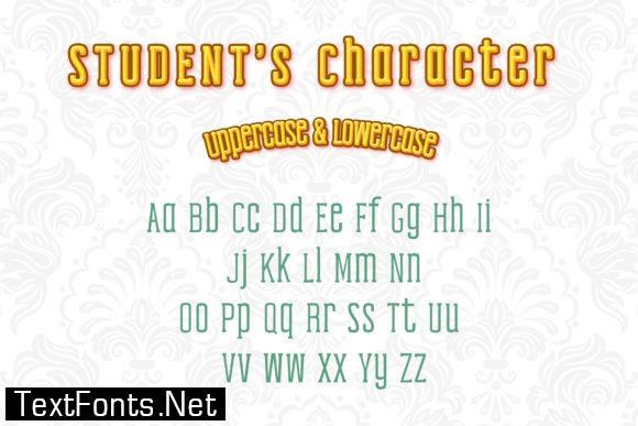 Student Font