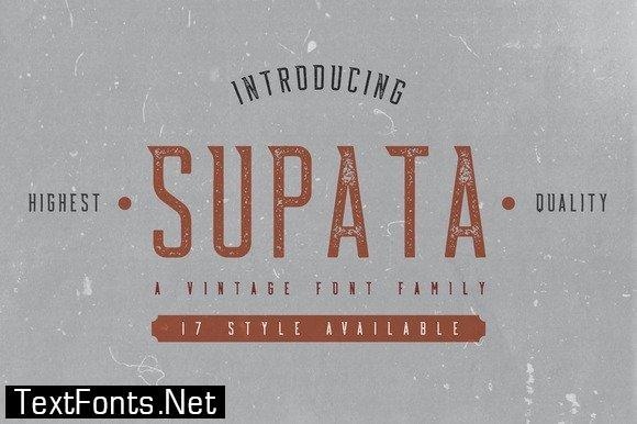 Supata Family Font