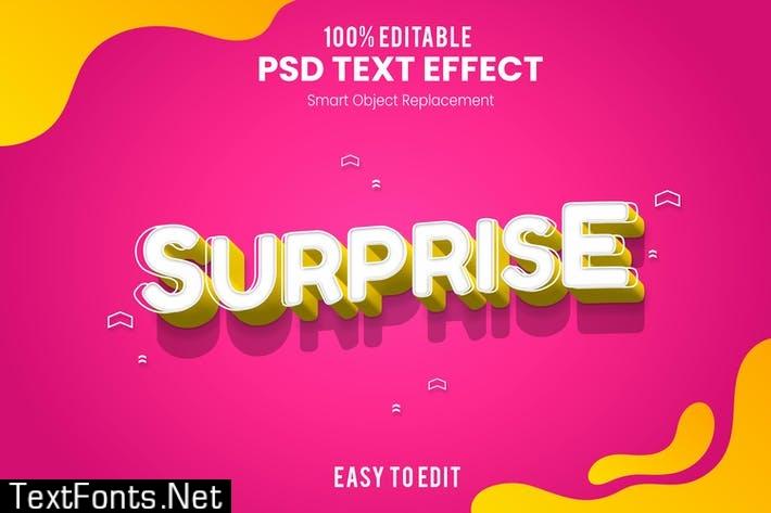 Surprise - Fun 3d Text Effect