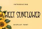 Sweet Sunflower Font