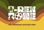 T-Rex Zone Font