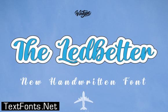 The Ledbetter Font