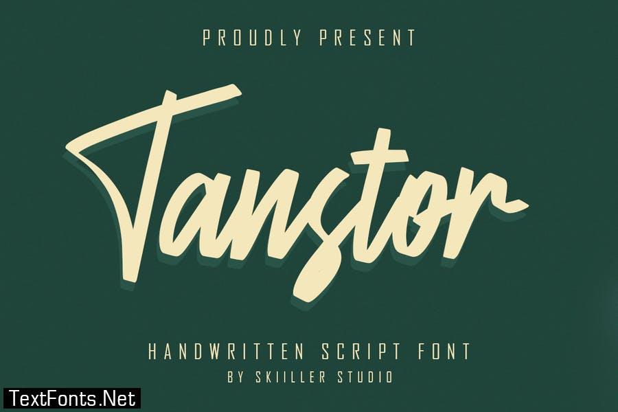 Transtor - Handwritten Script Font