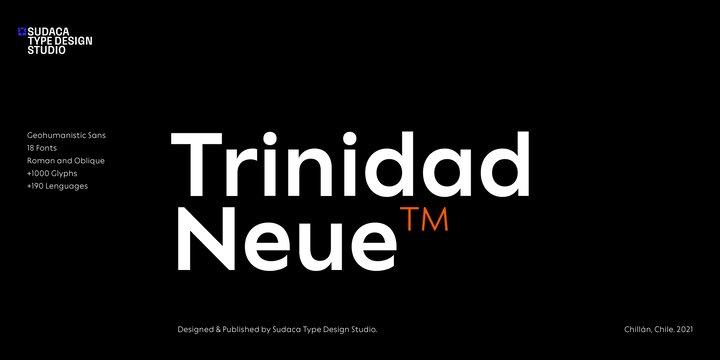 Trinidad Neue Font Family