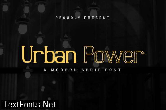 Urban Power Font
