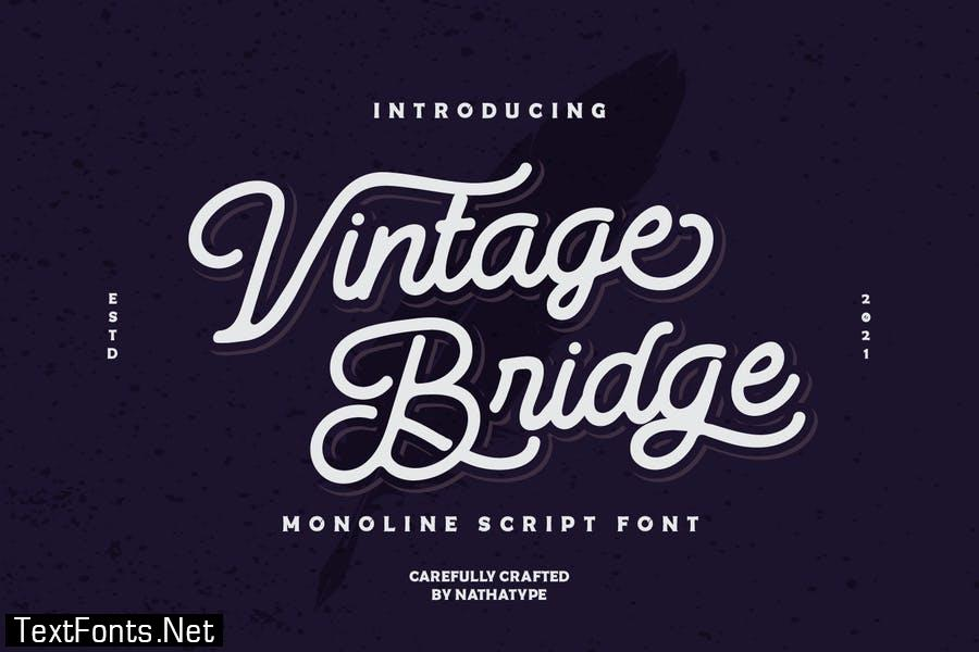 Vintage Bridge Font
