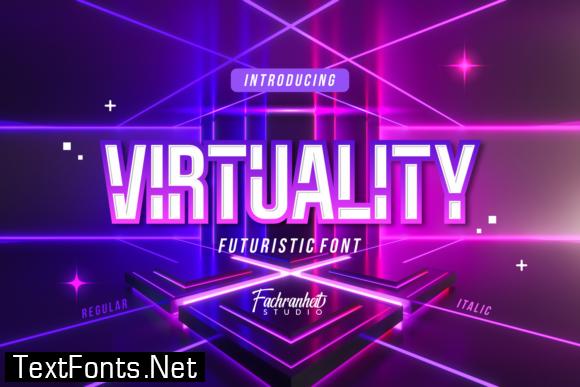 Virtuality Font