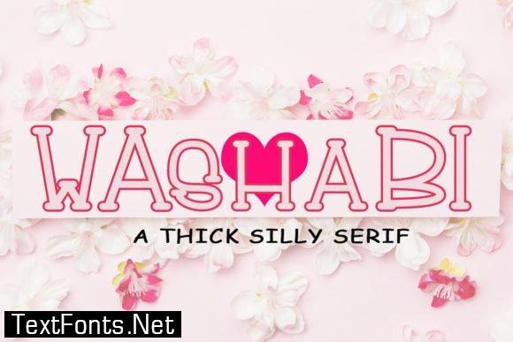 Washabi Font