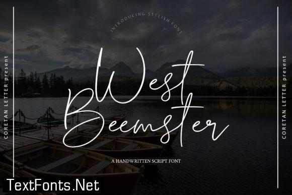 West Beemster Font