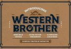 Western Brother Font