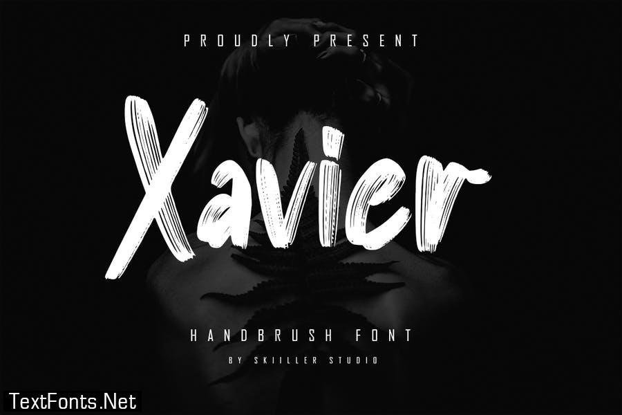 Xavier - Handbrush Font