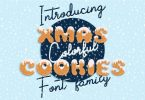 Xmas Cookie Font