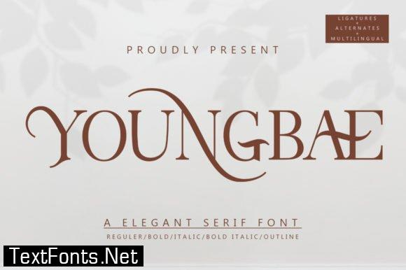 Youngbae Font