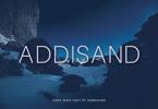 Addisand Font