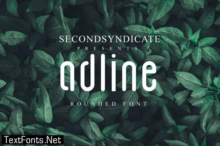 Adline - Rounded Font