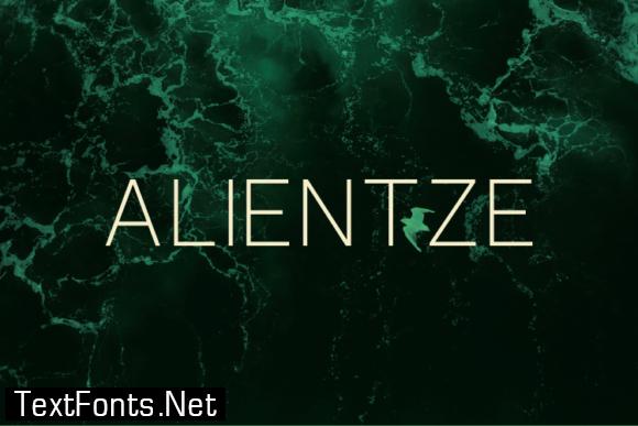 Alientze Font