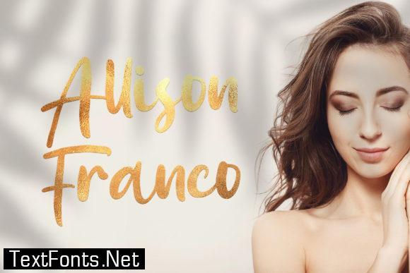 Allison Franco Font
