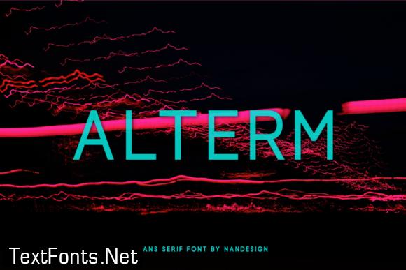 Alterm Font