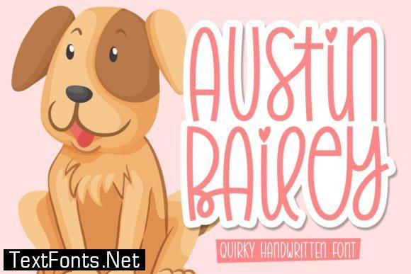 Austin Bailey Font