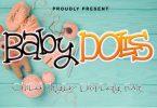 Baby Dolls Font