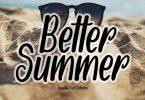 Better Summer Font
