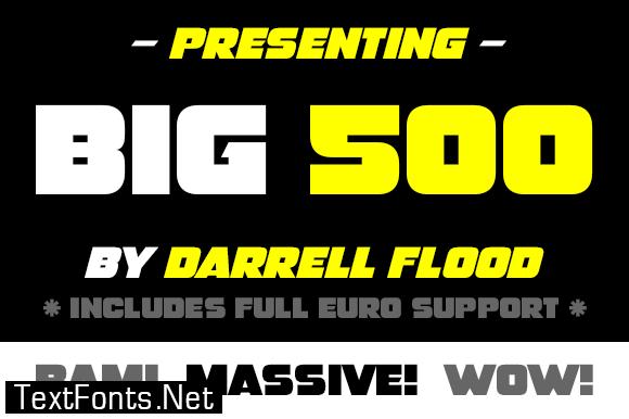 Big 500 Font