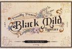 Black Mild Font