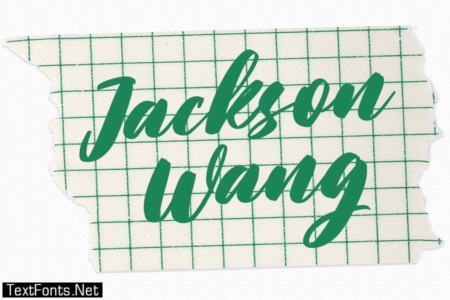 Blackbirdy Bold Script Font