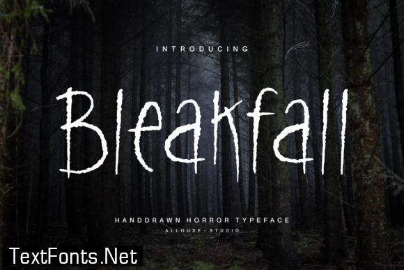 Bleakfall Font