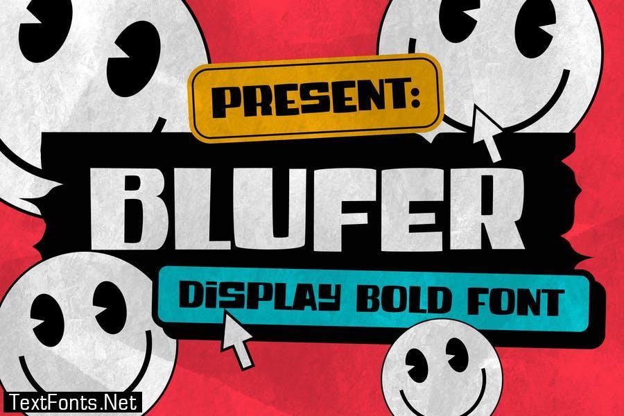 Blufer Font
