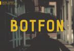 Botfon Font