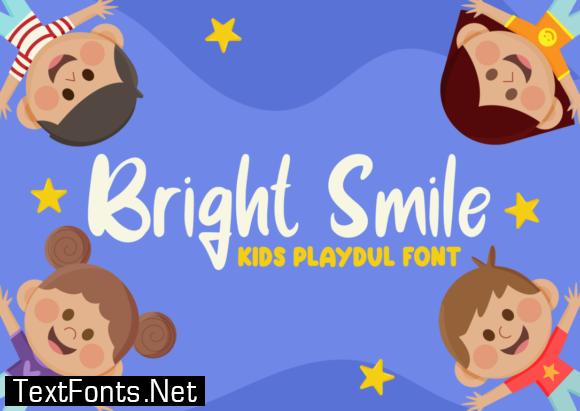 Bright Smile Font