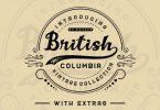 British Columbia Family Font
