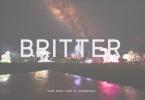 Britter Font