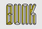 Bunk Font