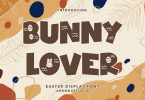 Bunny Lover - Easter Display Font