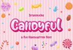 Candyful - a Fun Handwritten Font