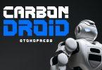 CARBON DROID - Techno Font