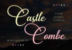 Castle Combe Font