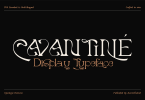 Cavantine Font