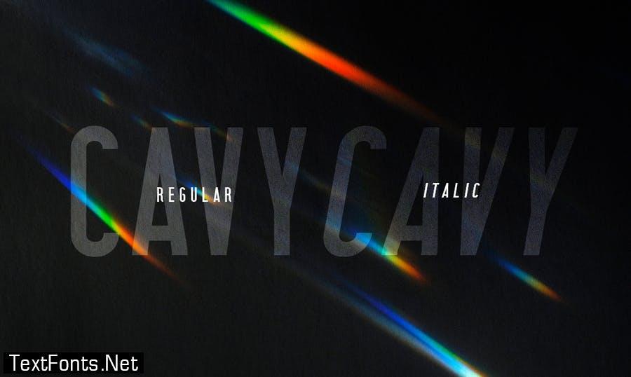Cavy Font