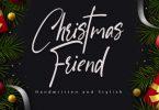 Christmas Friend Font