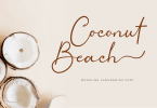Coconut Beach Font
