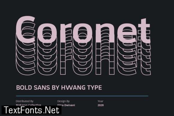 Coronet Font