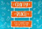 Crafty Beach Font
