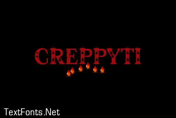 Creppyti Font