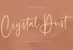 Crystal Dust Font