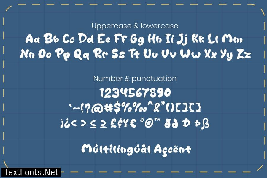 Cutey Patchy - Display Font