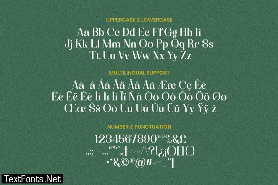 Darrylene Font
